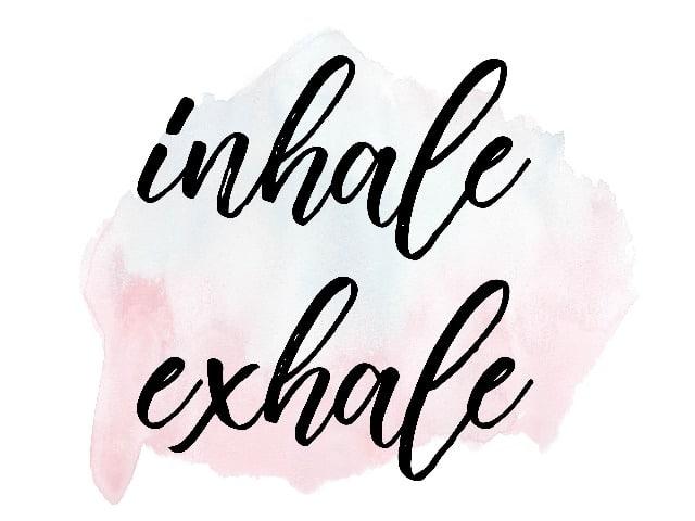 Quote FlexYourMind inhale exhale